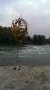 Landart am Fluss